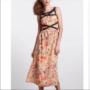 NWT Anthropologie treasure summer dress size 0